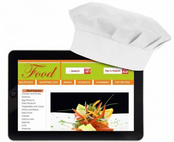 restaurant website design ideas
