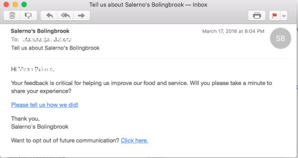 restaurant email marketing strategies online ordering feedback
