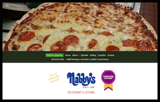 Nabbys website