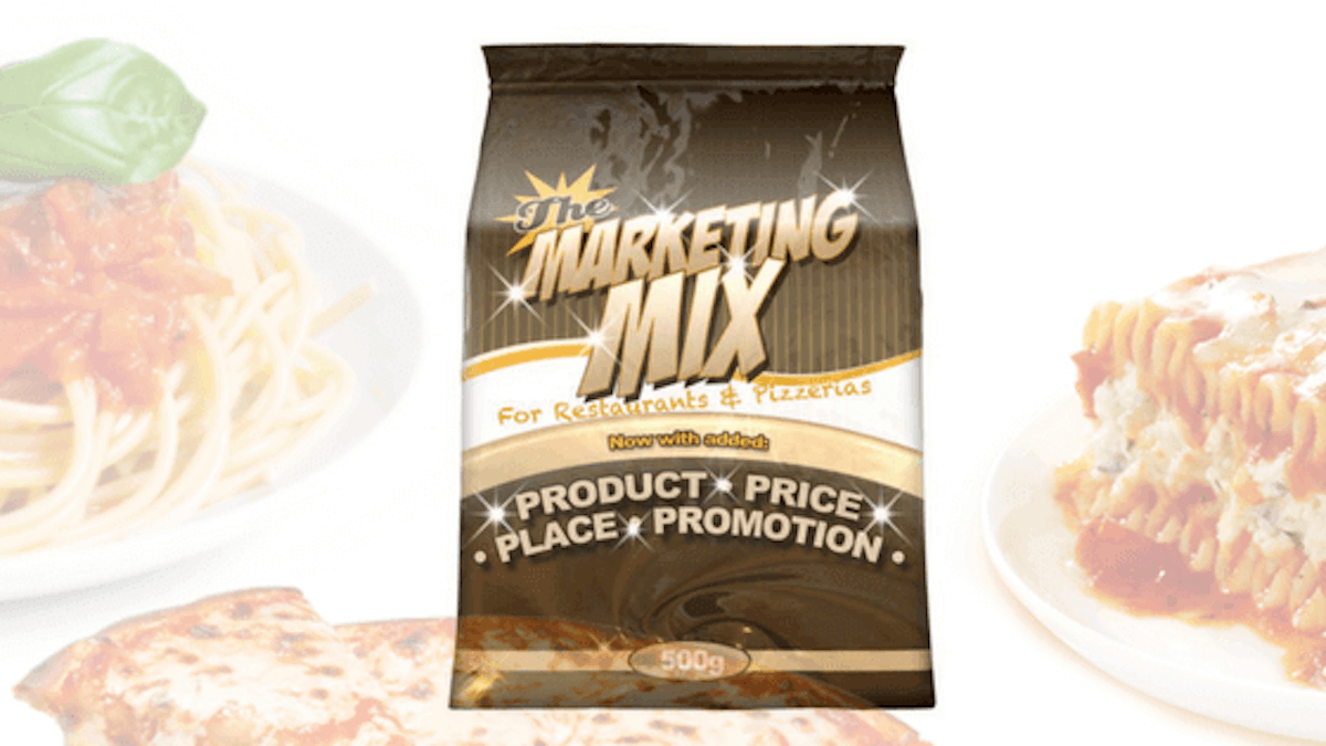 restaurant marketing mix