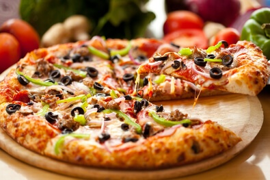 stock pizza image