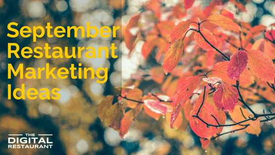 September Marketing Ideas