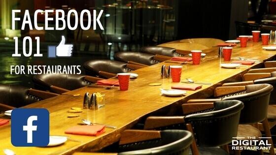 Facebook 101 for restaurants
