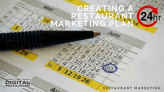 how to create a restaurant marketing plan in under 24 hours