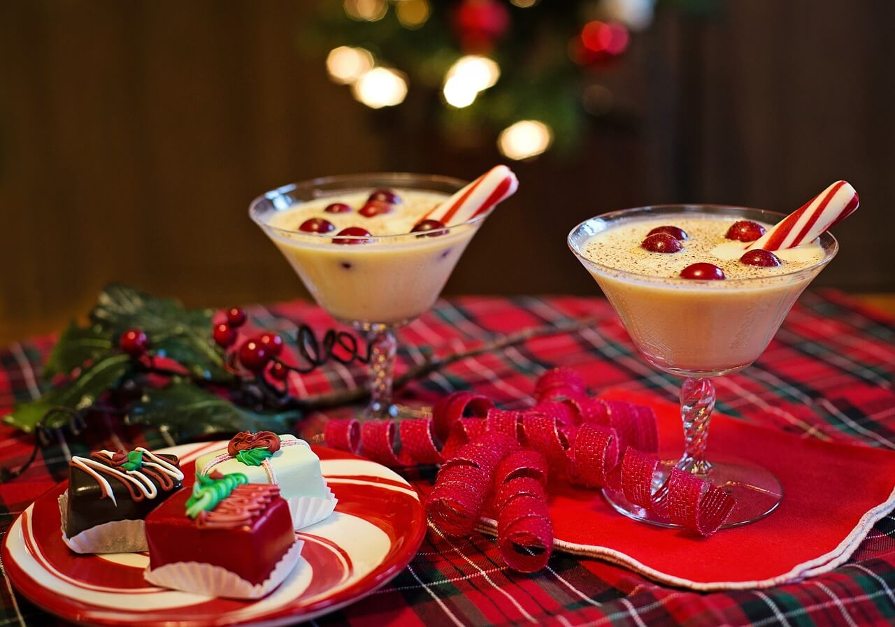 December marketing ideas - eggnog
