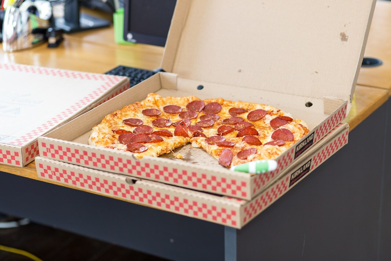 Increase pizza sales take out