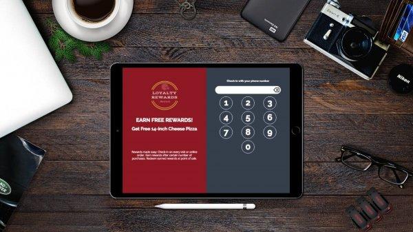rewards program tablet