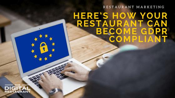 restaurant gdpr compliance