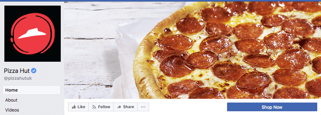 Pizza hut social media