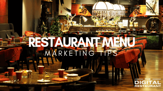 Restaurant Menu marketing
