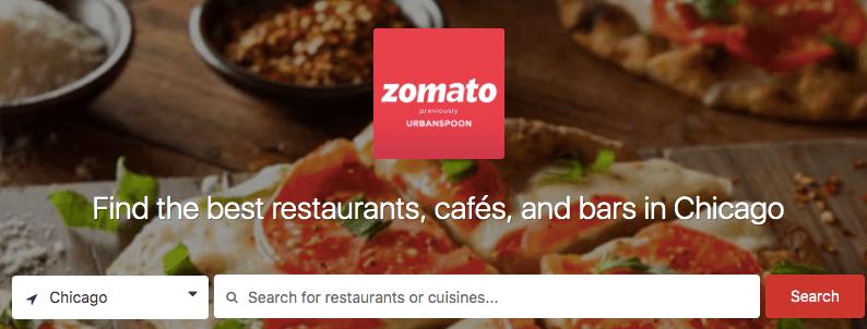 Zomato restaurant review